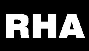 RHA logo white